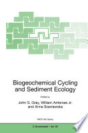 Biogeochemical Cycling and Sediment Ecology