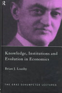 Knowledge  Institutions  and Evolution in Economics