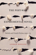 Pdf The Post-War Experimental Novel Telecharger
