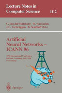 Artificial Neural Networks   ICANN 96