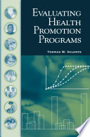 Evaluating Health Promotion Programs Book PDF