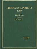 Products Liability Law