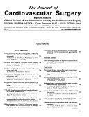 Journal of Cardiovascular Surgery