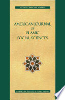 American Journal of Islamic Social Sciences 22 2 Book PDF