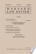 Harvard Law Review Volume 130 Number 6 April 2017