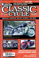 WALNECK S CLASSIC CYCLE TRADER  JULY 2008