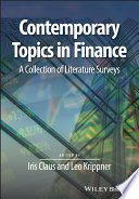 Contemporary Topics in Finance Book