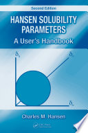 Hansen Solubility Parameters Book