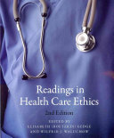 Readings In Health Care Ethics Second Edition