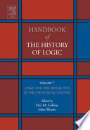 Logic And The Modalities In The Twentieth Century Book PDF