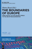 Pdf The Boundaries of Europe