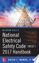 McGraw Hill   s National Electrical Safety Code 2017 Handbook