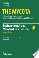 Environmental and Microbial Relationships Book