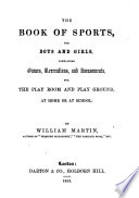 The Book of Sports  for Boys and Girls