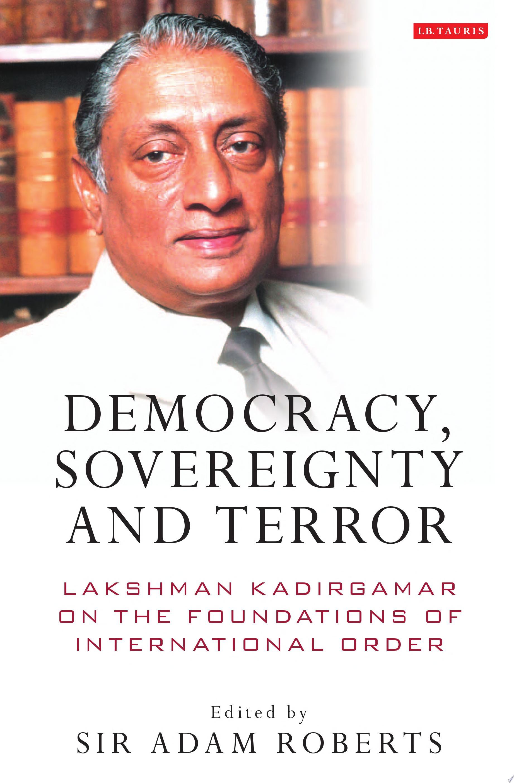 Democracy  Sovereignty and Terror