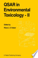 QSAR in Environmental Toxicology   II