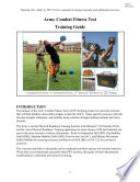 Publications Combined  Army Combat Fitness Test  ACFT  Training Guide  Handbook  Equipment List  Field Testing Manual   More