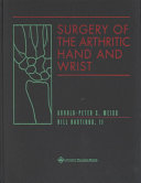 Surgery of the Arthritic Hand and Wrist