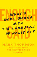 Enough Said [Pdf/ePub] eBook