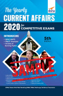 (Free Sample) The Yearly Current Affairs 2020 for Competitive Exams 5th Edition