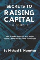 Secrets to Raising Capital Book