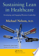 Sustaining Lean in Healthcare Book