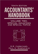 Accountants  Handbook  Special Industries and Special Topics