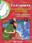 Five Minute Sunday School Activities Book