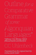 Outline for a Comparative Grammar of Some Algonquian Languages