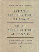 Art Et Architecture Au Canada