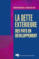 La dette extérieure des pays en développement ebook