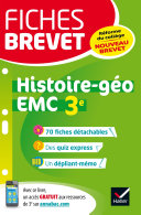 Fiches brevet Histoire-géographie EMC 3e