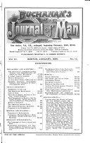 Buchanan s Journal of Man