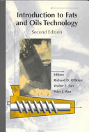 Introduction to Fats and Oils Technology Book