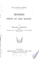 Mosses from an old manse Pdf/ePub eBook