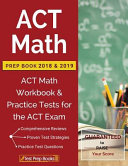 ACT Math Prep Book 2018 & 2019