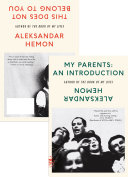 My Parents: An Introduction / This Does Not Belong to You Pdf/ePub eBook