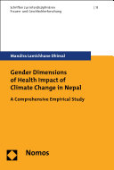 Gender Dimensions of Health Impact of Climate Change in Nepal