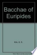 Bacchae of Euripides