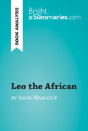 Leo the African by Amin Maalouf (Book Analysis)