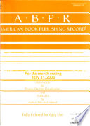 American Book Publishing Record  , Band 47,Ausgaben 5-6