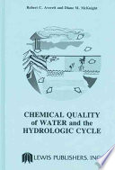 Chemical Quality of Water and The Hydrologic Cycle