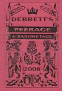 Debrett s Peerage   Baronetage 2008
