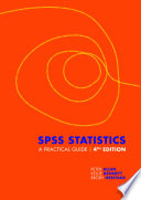 Cover of SPSS Statistics: A Practical Guide with Student Resource Access 12 Months