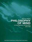 Pdf Philosophy of Mind