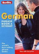 German Phrase Book   Dictionary