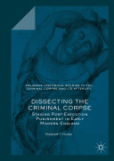 Dissecting the Criminal Corpse Pdf/ePub eBook