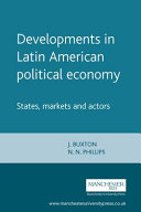 Developments in Latin American Political Economy