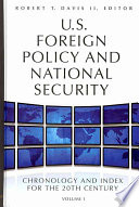 U S  Foreign Policy and National Security Book PDF