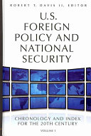 U.S. Foreign Policy and National Security